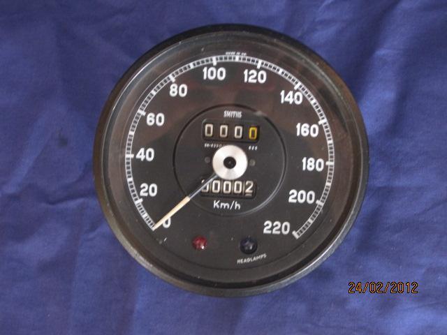 Trasig hastighetsmätare